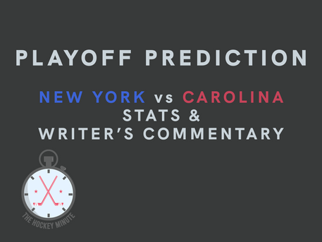 New York Rangers vs Carolina Hurricanes - stats & writer's commentary