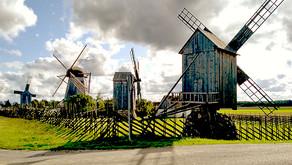 Маяки, ветряки и мельницы Сааремаа