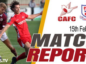 Match Report - Potters Bar Town