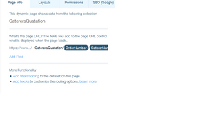 Dynamic page with html embedded with url from database | Corvid
