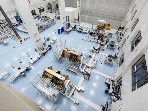 Airbus Defense and Space Satellite Assembly Visit
