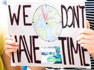 Klimatet och framtiden som inte kan börja