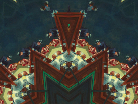 """Seamlessly Mirroring Famous Paintings Results in the Unfortunate Term, """"Kaleidoscopizing"""""""
