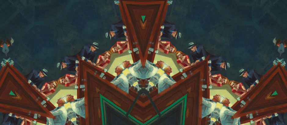"Seamlessly Mirroring Famous Paintings Results in the Unfortunate Term, ""Kaleidoscopizing"""