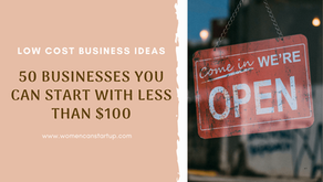 50 businesses you can start with less than $100