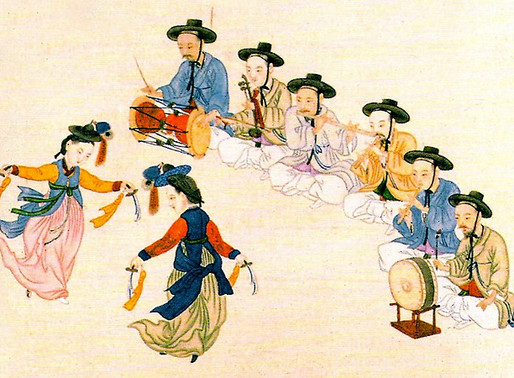 Xamanismo na Coreia.