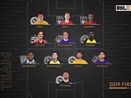 Three Nashville SC Players Named To USL Championship All-League Team