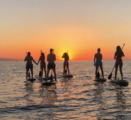 Spain Travel Journal, Barcelona, A-typical activities, Paddle Surf Barcelona, Paddle, Surf Barcelona