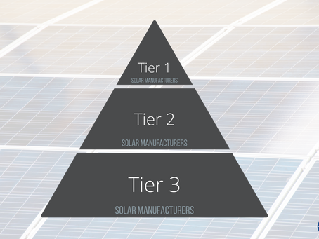 Did You Know There are Tier Levels for Solar Panels?