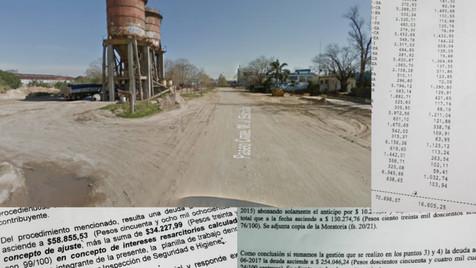 Informaron cuál es la situación de la Arenera Campana que ocupa un espacio de la Costanera.