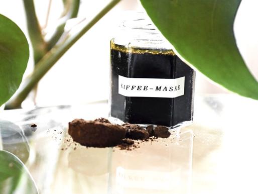 DIY KAFFEEMASKE FÜR STRAHLENDE HAUT - günstig & easy #coffeelovers