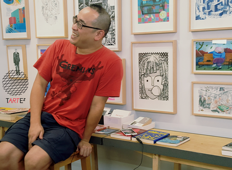 專訪漫畫家黎達達榮,地獄火車中進發中⋯⋯