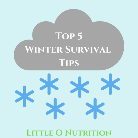 Winter Survival Guide: My top 5 tips!