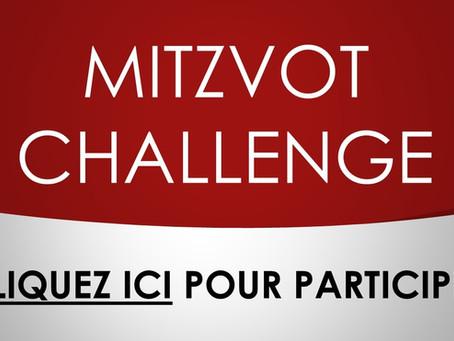 MITZVOT CHALLENGE - Pour contrer ensemble la pandémie