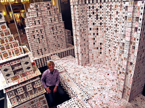 World's Biggest House of Cards
