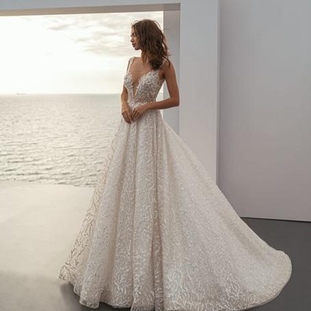 Propunerile designerilor pentru rochii de mireasa in 2021