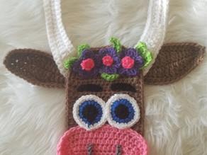 How to Crochet a Boho Bull Applique