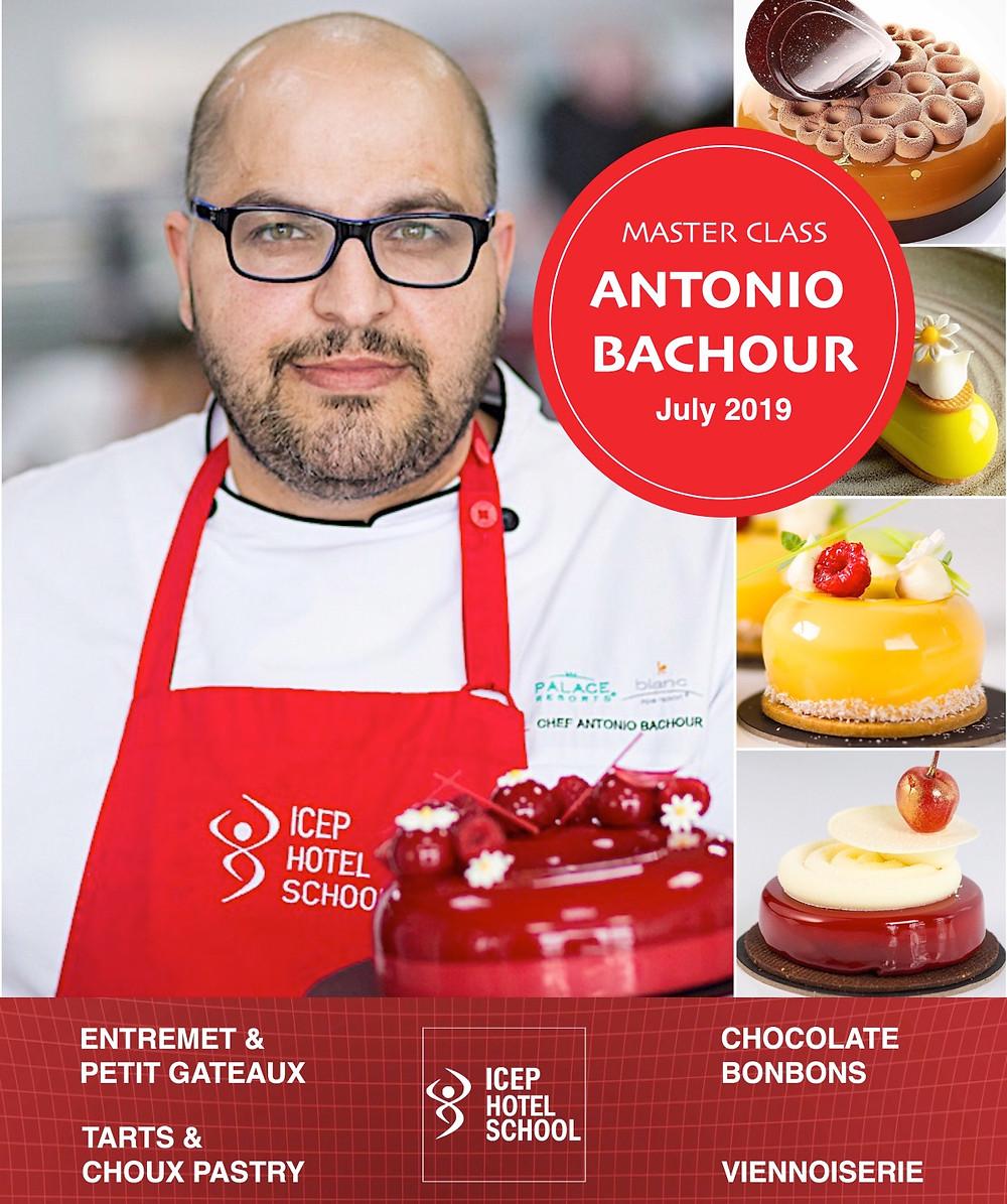Antonio Bachour la Icep Hotel School