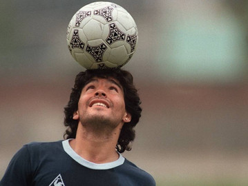 Maradona, um Deus, humano