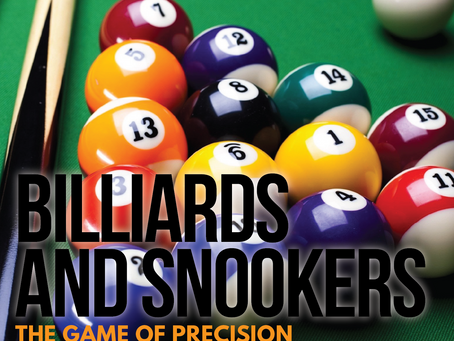 Billiards and Snooker: The Games of Precision