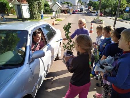Ações educativas mobilizam crianças durante a Semana do Meio Ambiente