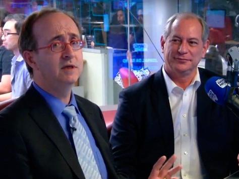 Reinaldo Azevedo e Ciro Gomes: frente ampla contra as corporações