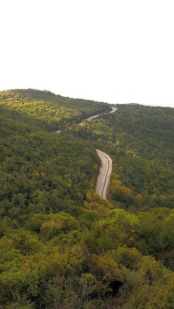 נוף משביל הפסגה בהר מירון