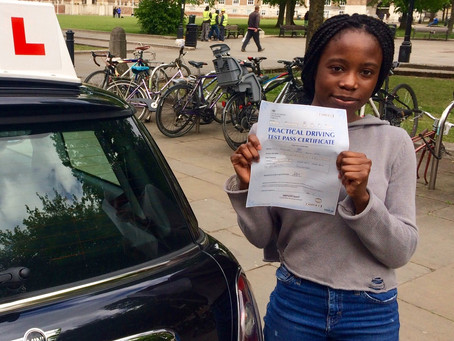 Congratulations Mal on a great driving test Pass.