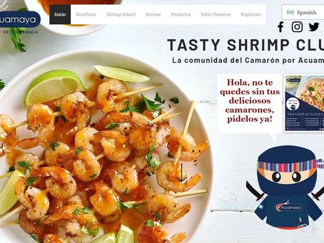 """""""Tasty Shrimp Club"""" de ACUAMAYA para aprender lo que distingue al camaron de Guatemala en el mundo!"""