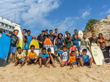 Share the love of surfing with Bali Life Foundation