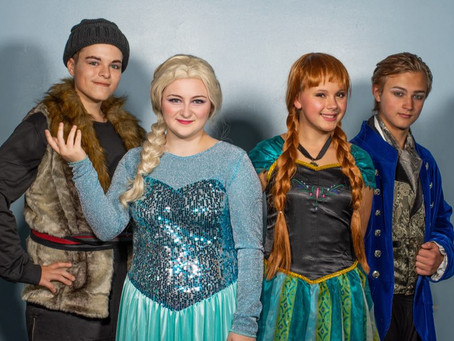 The Center for the Arts with Disney's Frozen JR. at Winterfest at the Fountains