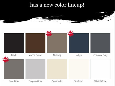 New StarBoard Color Lineup! 888.836.3379 for pricing