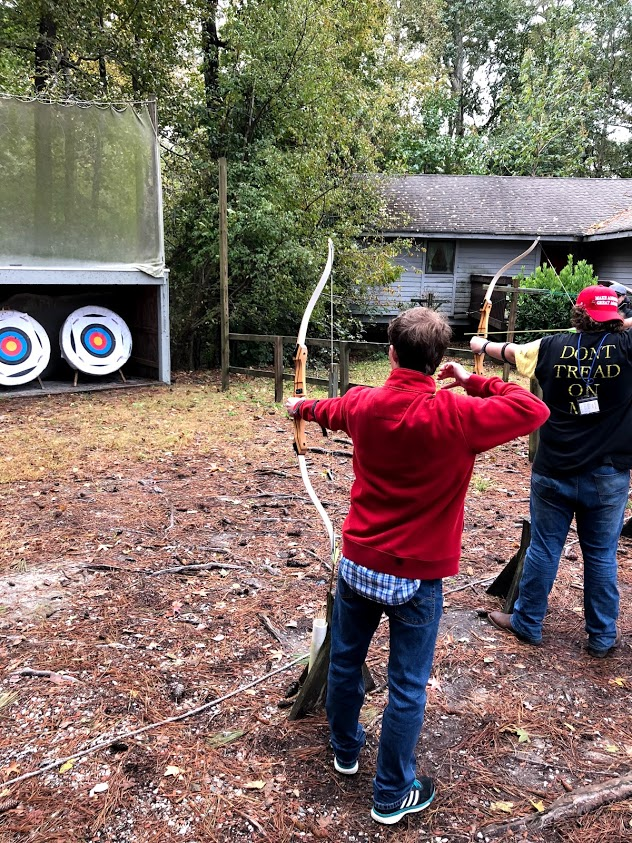 Archery at Fall Fest