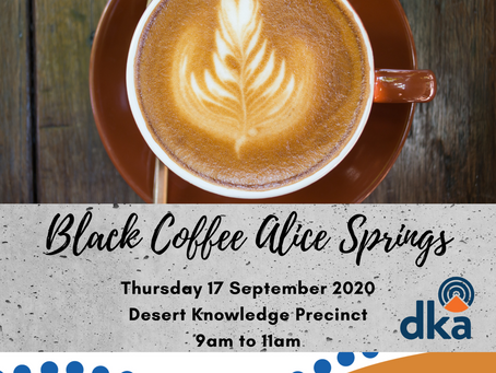 BLACK COFFEE EVENT ALICE SPRINGS