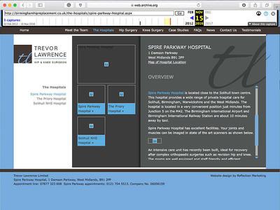 WEB DESIGN CASE STUDY 1 - DESIGN PROCESS