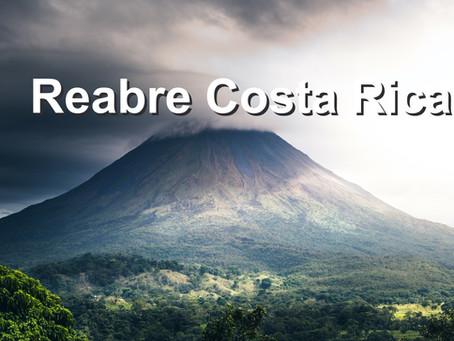 Costa Rica reabre el próximo 1 de noviembre