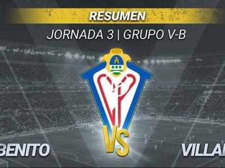 Resumen del Don Benito 1 - CP Villarrobledo 0