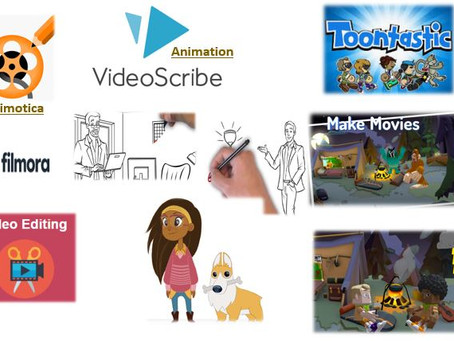 Animation and Video-editing skills for children
