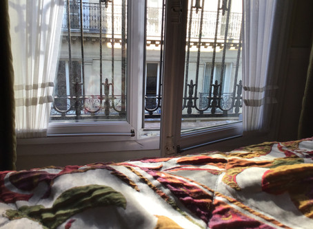 I woke up in Paris this morning.....