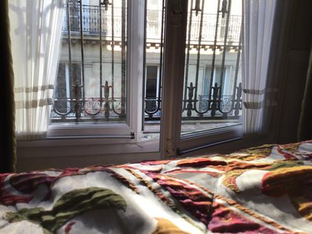 I woke up in Paris this morning.....