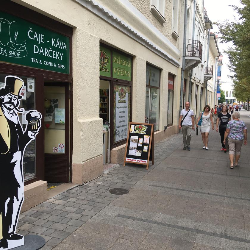 Simeon v TeaShop Piešťany