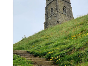 A DAY IN GLASTONBURY, SOMERSET UK