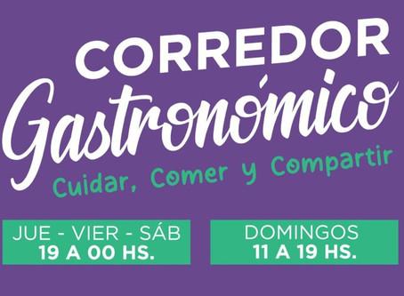"""Hoy debuta en Quilmes el """"Corredor Gastronómico"""" al aire libre tras la propuesta de Mayra Mendoza"""