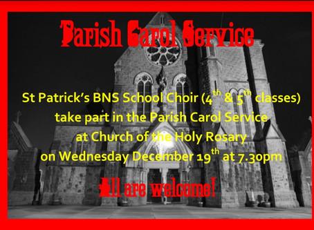 Carol Service in Church