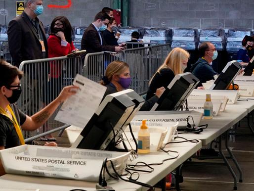 Varios trabajadores electorales contagiados de covid-19 tras votaciones en EE.UU.