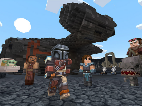 Star Wars Comes to Minecraft in Download Pack That Includes Baby Yoda From 'The Mandalorian'