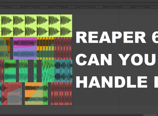 What's new in REAPER 6 (VIDEO)