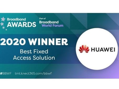 Huawei AirPON признано «Лучшим решением для фиксированного доступа»