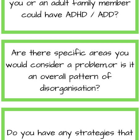 ADHD / ADD Can I ask you a question?