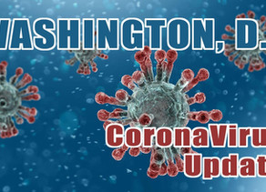CoronaVirus Update in Washington, D.C.